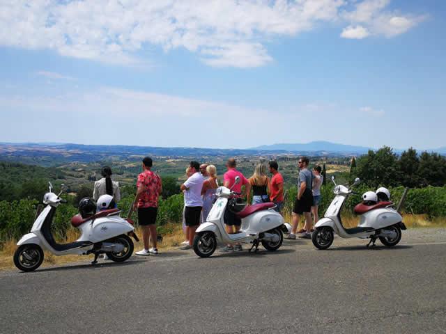 Tour in Vespa in Chianti